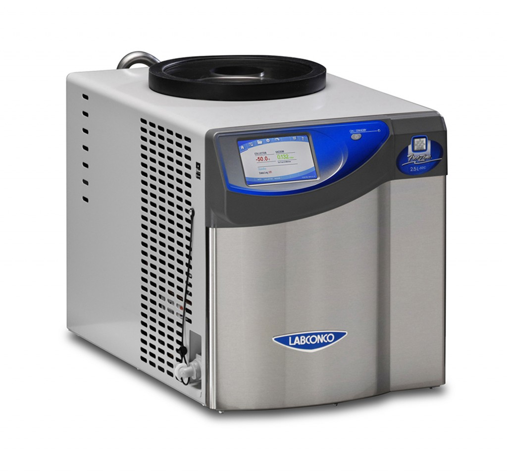 700201010 - FreeZone 2.5 Liter -50C Benchtop Freeze Dryer