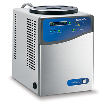 FreeZone 2.5 Liter Benchtop Freeze Dry Systems
