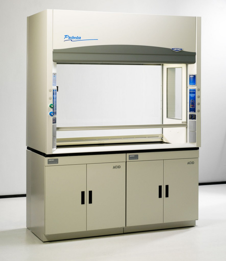 5 Foot Protector Pass-Through Laboratory Hoods